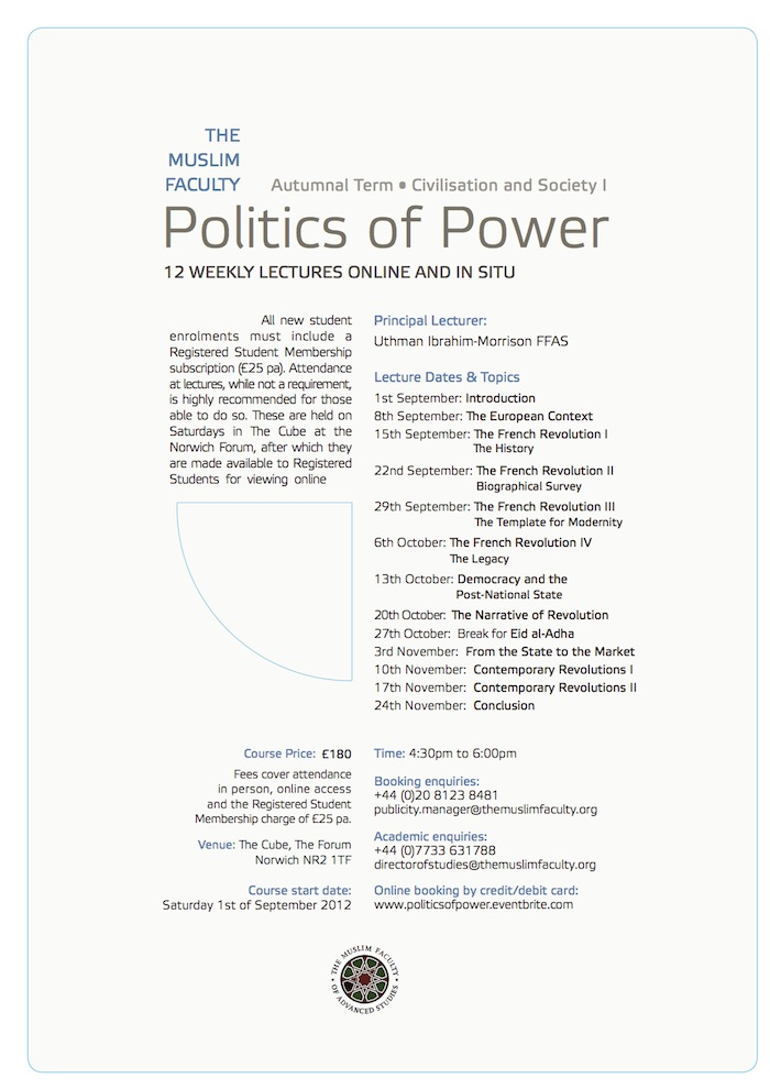 Civilisation and Society I: Politics of Power